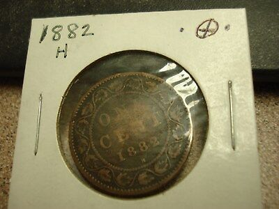 1882 H - Canada Penny - High Grade, Nice Canadian one cent coin