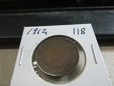 1912 - Canada Penny - High Grade, Nice Canadian one cent coin
