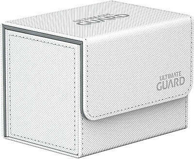 Ultimate Guard UGD10746 Sidewinder 80+ Xenoskin Card Game, White, Standard Size