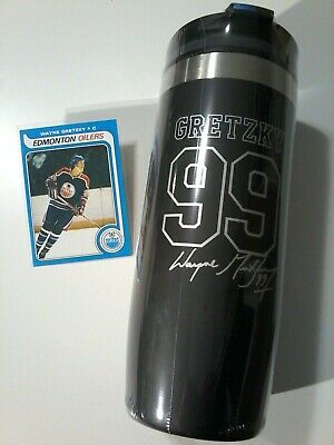New! Wayne Gretzky 99 Tim Hortons Travel Mug Rare Limited Edition The Great One!