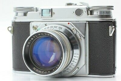 【Excellent+++++】 Voigtlander Prominent IA + Nokton 50mm f/1.5 from JAPAN #697