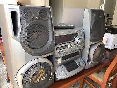 Sony LBT-DR8 - 5 Disc / 2 Tape Player