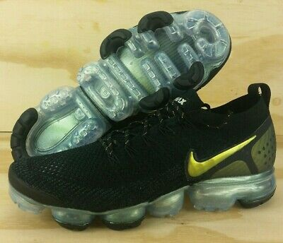 Nike Air Vapormax Flyknit 2 Running Shoes Black / Multi-Color 942842-015 Size 11