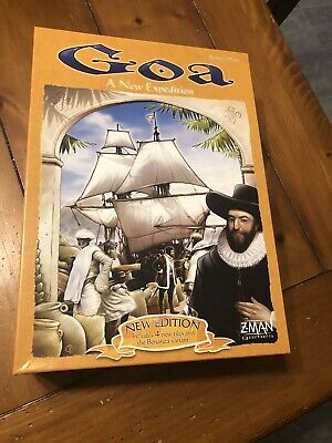 GOA Game by ZMAN COMPLETE Boardgame