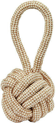 Kerbl Jute Ball with Rope, 12 x 31 cm, Extra Large