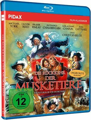 The Return Of The Musketeers - Michael York, Oliver Reed NEW BLU-RAY UK REGION B