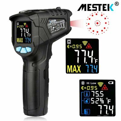 LCD Handheld Digital Laser Thermometers Temperature Non-Contact IR Infrared Gun