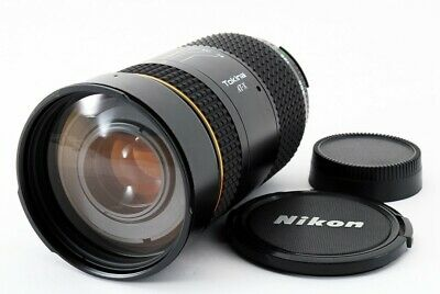 Tokina AT-X 80-400mm F4.5-5.6 AF Zoom for Nikon [Exc+++] From Japan [600]