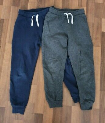 Boys H&M Joggers X 2 Age 8-9 Years