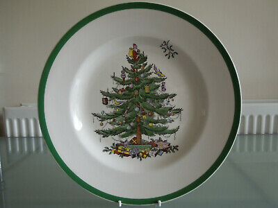 Spode Christmas Tree ~ Large 27cm Plate / Dish