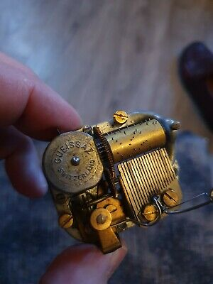Wind Up Alloy Metal Musical Movement Part for DIY Music Box