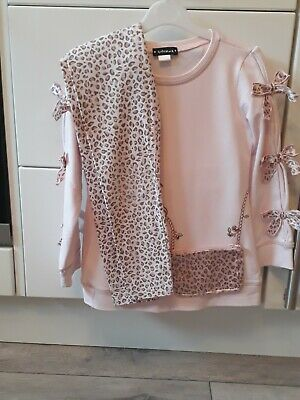 Girls Kate Mack Top And Leggings