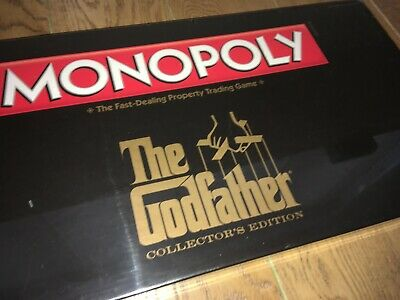 The Godfather Monopoly Board Game Collectors Edition New Sealed