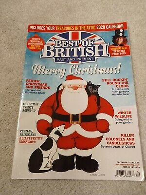 Best of British Magazine, December 2019. Very good condition.