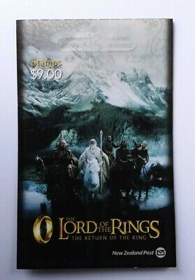"""New Zealand 2003 $9 """"Return of the King"""" Lord of the Rings 3rd Series sa Booklet"""