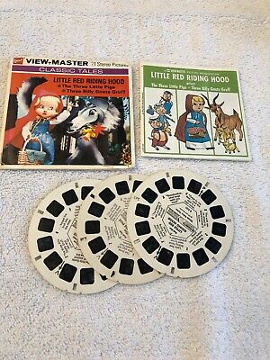 Little Red Riding Hood - Viewmaster Vintage Reel Set