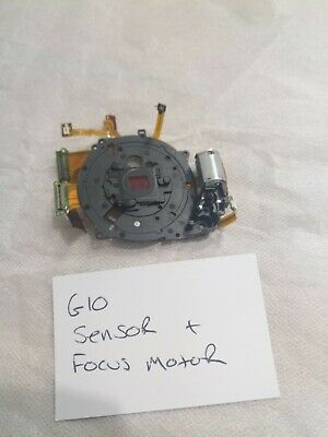 Canon G10 Compact Camera Sensor And Focussing Motor Assembly