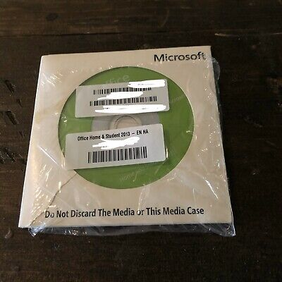 Microsoft Office Home And Student 2013 DVD, with Licence