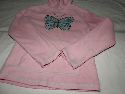 Ladybird. Girls pink fleece with hood age 9 - 10 years