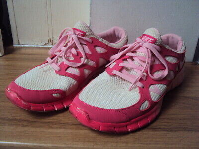 Nike White/Pink Lightweight Trainers, Size 4.5 / 38