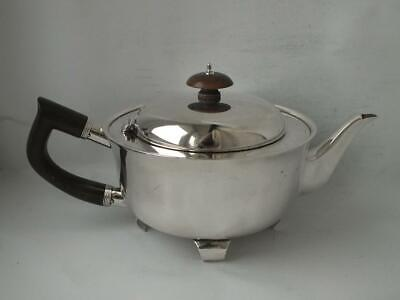 Unusual Heavy Antique Solid Sterling Silver Teapot 1911/ L 24 cm/ 692 g