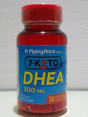 PIPING ROCK-  7 -KETO DHE A-100 Mg- 30 CAPLETS - Ebay best Prices