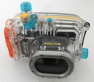 GENUINE Canon WP-DC38 UNDERWATER HOUSING. Made in Japan.