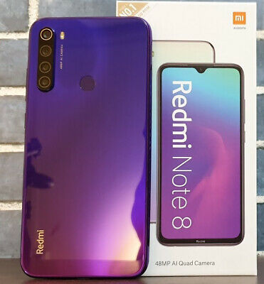 "Xiaomi Redmi Note 8 64 GB 4 GB RAM  6.3"" Dual-SIM 48MP (Global)"