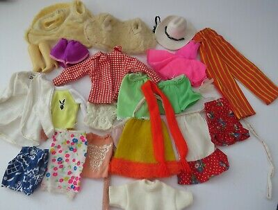 Vintage Barbie 22 Piece Lot Of Collectable Fashion.