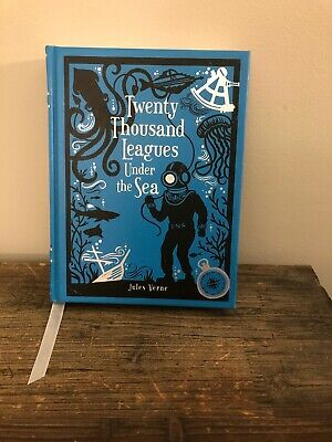 Twenty Thousand Leagues Under the Sea Barnes & Noble Edition Leather Bound Book