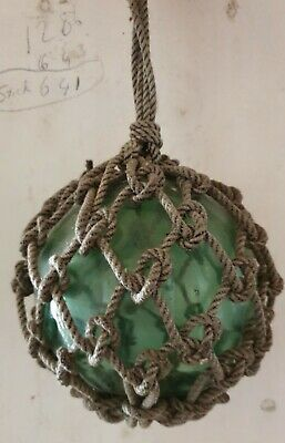 Vintage Glass Fishing Buoy