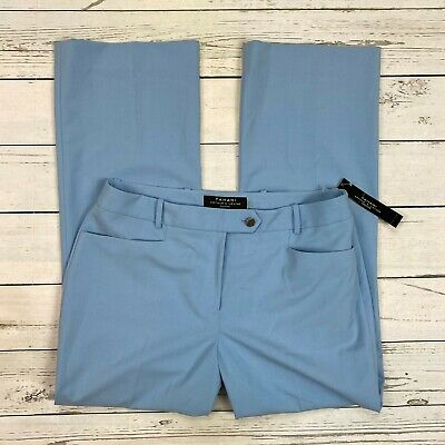 Tahari Arthur S Levine Dress Pants Size 10P Petite Womens French Blue 7189P342