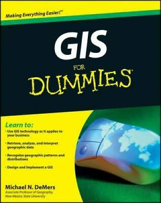 GIS For Dummies - Paperback By DeMers, Michael N. - VERY GOOD