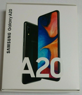 Samsung Galaxy A20 32GB Smartphone Boost Mobile-New In Open Box