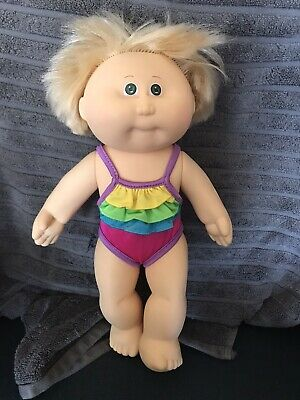 Coleco 1980s Cabbage Patch Kids Hard Body Doll In Bathers (can combine post)