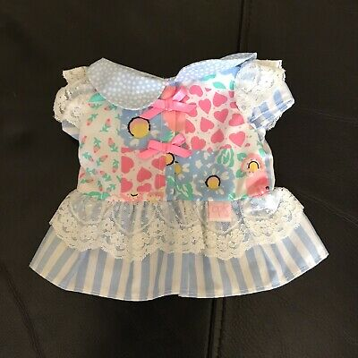 Gorgeous Pink, White And Blue Cabbage Baby Fashions Dress (can combine post)