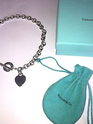 Tiffany & Co. Heart Toggle Necklace (Sterling Silver)