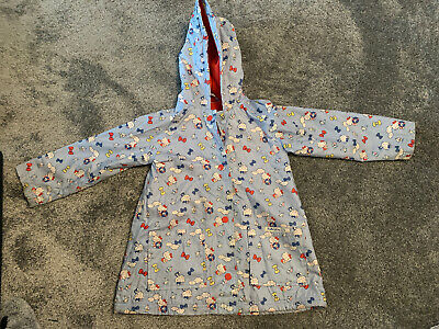 Marks And Spencer M&S Hello Kitty Girls Hooded Raincoat Jacket Age 4-5 Years