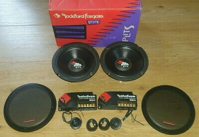 Rockford Fosgate Punch PCH-614 Splits midrange / component system Speakers 1996