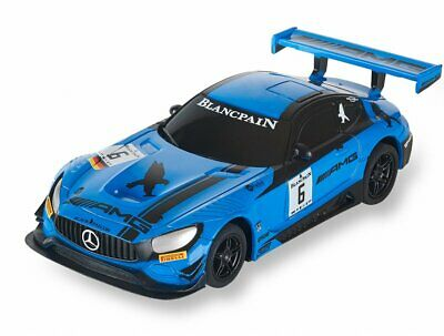 Scalextric Compact Mercedes Amg Gt3 #6 Blancpain Black Falcon Scx C10270S300
