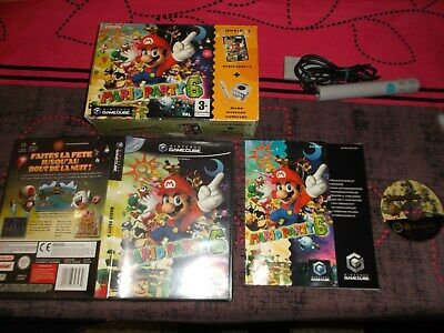 jeu nintendo game cube mario party 6 complet big box fr