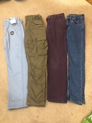 Boys Trouser Bundle Age 9-10, Skinny Jeans, Chinos