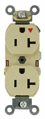 Leviton 5362-IGI 20-Amp, 125 Volt, Industrial Series Heavy Duty Specification...