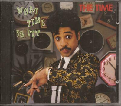 THE TIME What Time Is It? CD RARE funk MORRIS DAY w/ 777-9211 WARNER BROS 1982