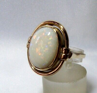 Zauberhafter Opal Ring 585 Gold Fingerring / BV 427