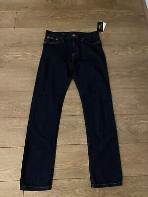 Ralph Lauren Boys Dark Blue Jeans. Age 14. NEW.