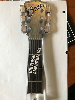 rare COORS  acoustic guitar neck TAP  HANDLE ***NEW***