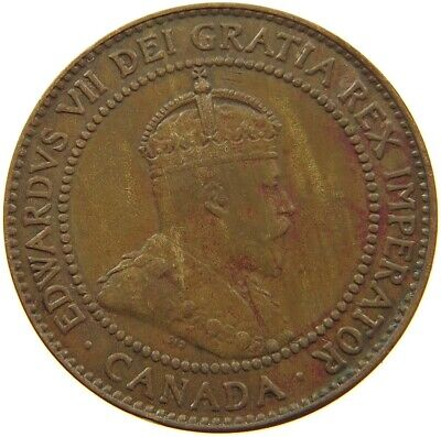 CANADA LARGE CENT 1909 #s7 169