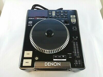 Tested Works DENON DN-S3000 PROFESSIONAL CD PLAYER TURNTABLE DJ CDJ MP3