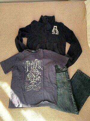 Boys Clothing Bundle Age 7RALPH LAUREN, NEXT, ABERCROMBIE! A1 Cond.